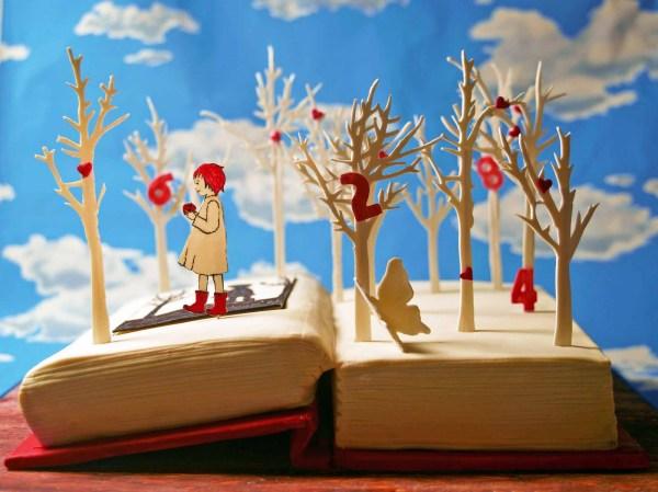 book+cake