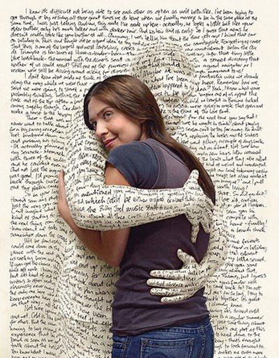 A good book can feel like protective arms wrapped tightly around you.