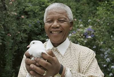 """It always seems impossible, until it is done."" --Nelson Mandela, born on this day in 1918"