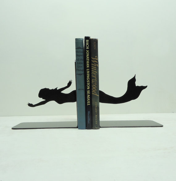 Mermaid Bookend - Sold on Etsy