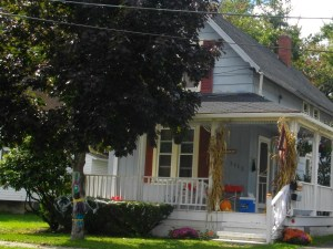 My childhood home.