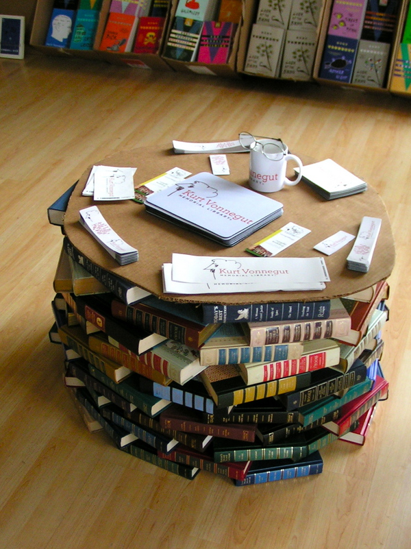 10 Amazing Pieces Of Furniture Made From Books 100 Classics Challenge