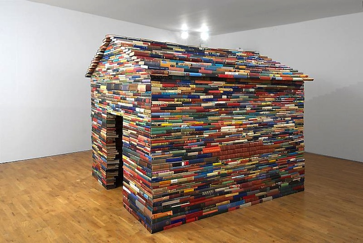 10 Amazing Pieces Of Furniture Made From Books 100