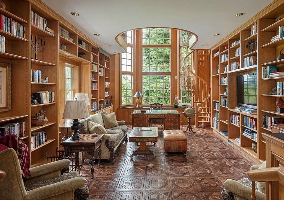 10 Of The Most Stunning Home Libraries   100 Classics ...