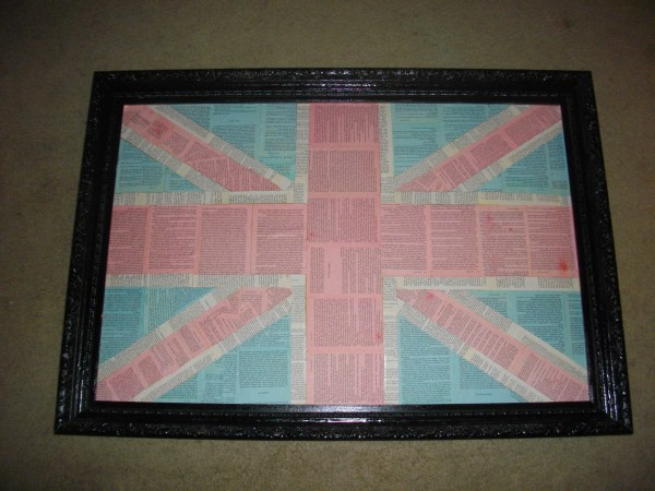 My Pride and Prejudice Union Jack!