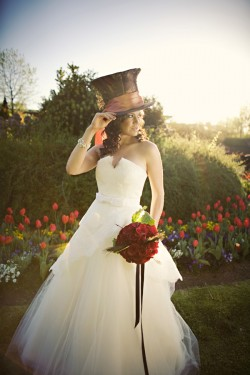 alice in wonderland wedding dress 10 weddings inspired by books 100 classics challenge 1257