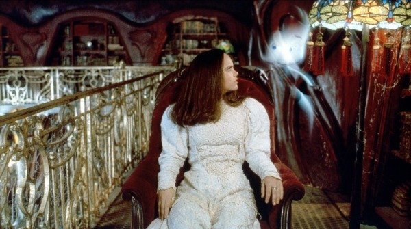 I used to love this movie when I was in my early teen.  The library was so cool and it had that awesome chair which took you on that wild ride.  Casper is a fantastic movie!