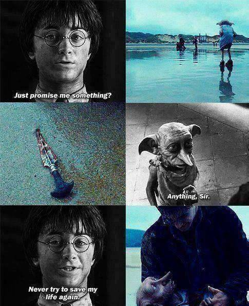 I seriously sobbed at this part.  Horrible death.