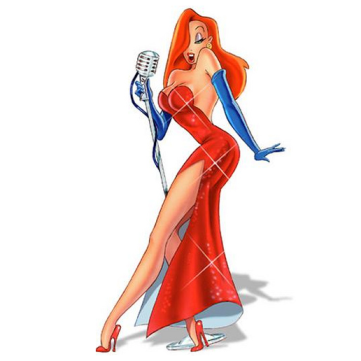 Making grown men swoon over a cartoon, now that's some red head power right there!