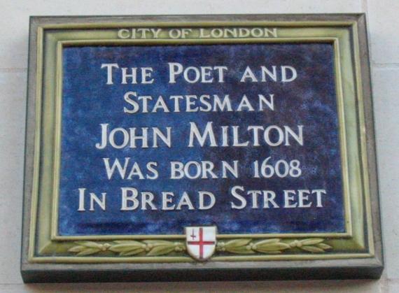 John_Milton_plaque_Bread_Street_London