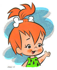 How can you not love Pebbles Flintstone?